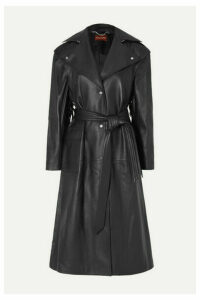 Altuzarra - Dickson Fringed Leather Trench Coat - Black