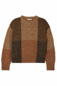 The Row - Didion Cashmere And Silk-blend Sweater - Brown