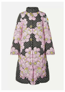 Moncler Genius - + 0 Richard Quinn Ines Crystal-embellished Printed Quilted Shell Down Coat - Black