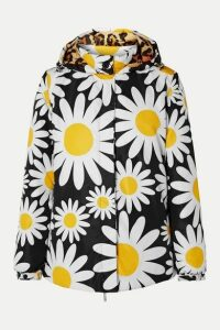 Moncler Genius - + 0 Richard Quinn Connie Hooded Floral-print Shell Down Jacket - Black
