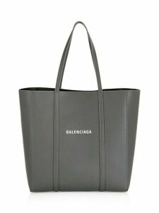 Small Logo Everyday Leather Tote