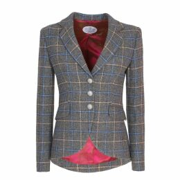 The Extreme Collection - Chekered Blazer Cassya