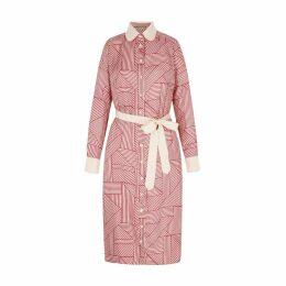 SOMERVILLE. - Kelly Shirt Dress In Stripe