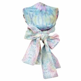 UNDRESS - Avia Floral Printed Pink Green Midi Shirt Dress