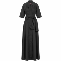 Me & Thee - Curry Favour Rose Print Jersey Dress