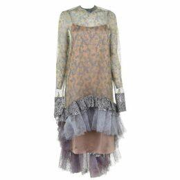 Anais Jourden Rainbow Dress