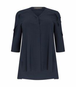 Fold Shoulder Lightweight Overcoat