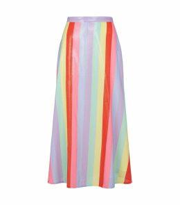 Penelope Embellished Midi Skirt