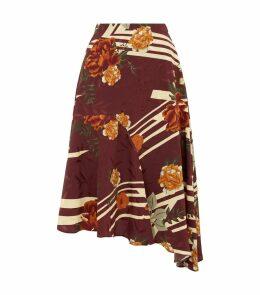 Katherina Floral Midi Skirt