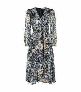 Coco Plunge Midi Dress