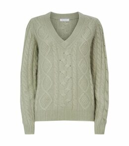 Knitted Cashmere-Silk Sweater