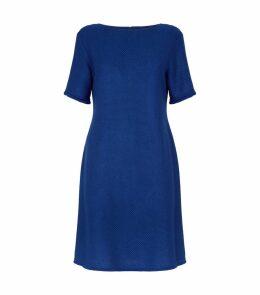 Textured Knit Shift Dress