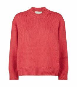 Wool Round-Neck Sweater
