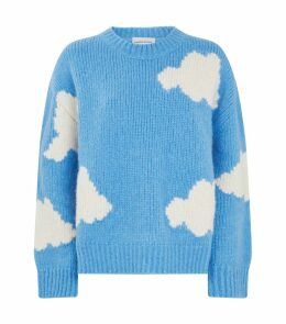 Cloud Print Sweater