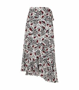 Winterbloom Wrap Skirt