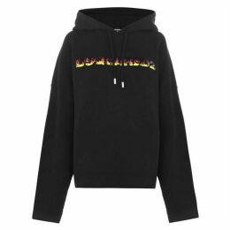 DSquared2 Fire Logo Hooded Sweatshirt