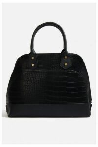 Womens **Croc Kettle Tote Bag By Skinnydip - Black, Black