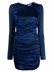 P.A.R.O.S.H. zebra print dress - Black