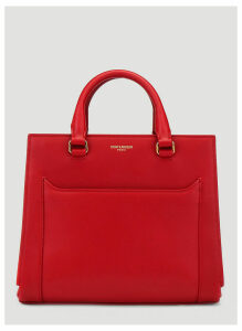 Saint Laurent East Side Bag in Red size One Size