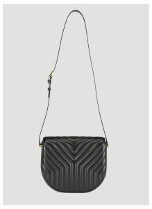 Saint Laurent Joan Satchel Shoulder Bag in Black size One Size