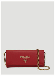 Prada Saffiano Lux bag in Red size One Size