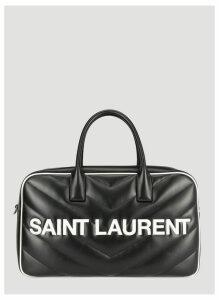 Saint Laurent Miles Travel Bag in Black size One Size