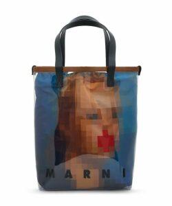 Pixel Grace Shopping Bag