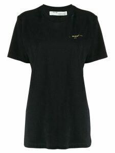 Off-White Stencil Arrows print T-shirt - Black