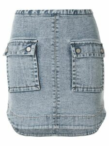 Manning Cartell Major Key denim skirt - Blue