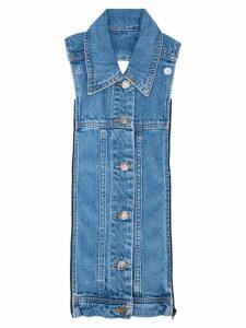 Veronica Beard Slate Dickey shirt - Denim Blue