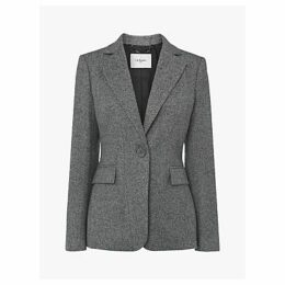 L.K.Bennett Frances Wool Jacket, Grey