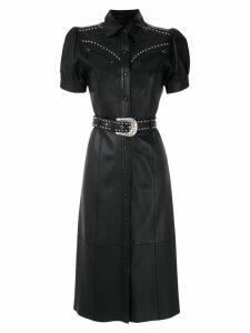Nk Mestido Jane leather dress - Black