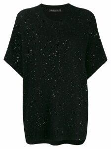Fabiana Filippi short-sleeve jumper - Black