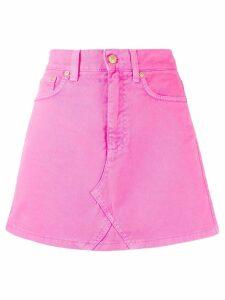Chiara Ferragni denim mini skirt - Pink