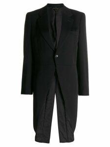 Comme Des Garçons slim-fit tuxedo blazer - Black