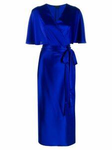 Escada V-neck dress - Blue