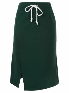 Ck Calvin Klein elasticated waist skirt - Green