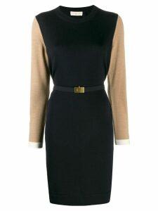 Tory Burch colour block dress - Blue