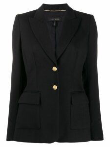 Escada fitted single-breasted blazer - Black