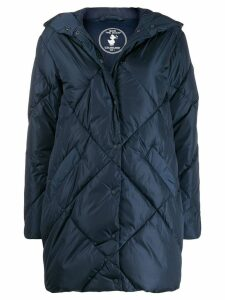 Save The Duck padded hooded coat - Blue