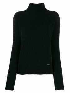 Dsquared2 textured turtleneck jumper - Black
