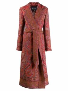 Etro Lindsey coat - Red