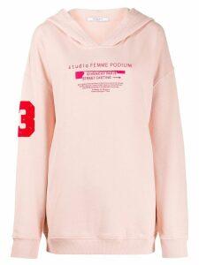 Givenchy Studio print hoodie - Pink