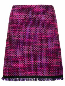 Escada Sport woven tweed skirt - Pink