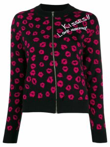 Love Moschino kisses cardigan - Black