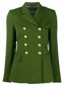 Escada textured double-breasted blazer - Green