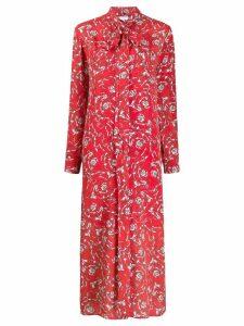 Escada Sport floral print midi dress - Red