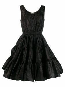 Miu Miu ruffled short dress - Black