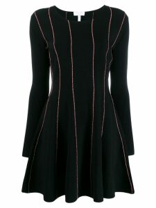 Escada Sport striped dress - Black