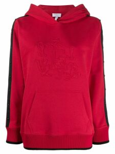 Escada Sport embossed hoodie - Red